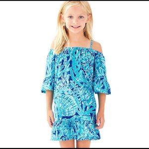 Lilly Pulitzer Jack dress tortuga time turtle L